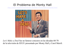 The Monty Hall Problem - Estadística para todos