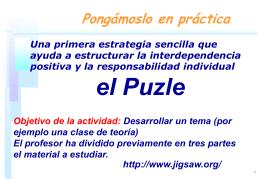 El puzle - digsys.upc.edu