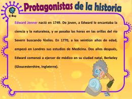 La historia de Jenner (MS PowerPoint) - e-Bug