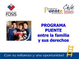 """Presentación: """"El Programa Puente: Procesos, Lecciones"""