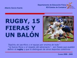 Apuntes rugby - El blog de Nube 2