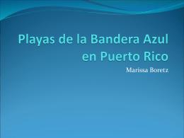 Playas de la Bandera Azul en Puerto Rico
