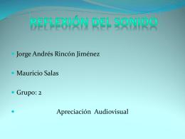 REFLEXION DEL SONIDO