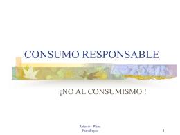 CONSUMO RESPONSABLE - Contenidos Educativos Digitales
