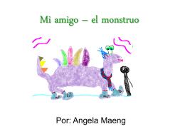 Mi amigo – el monstruo