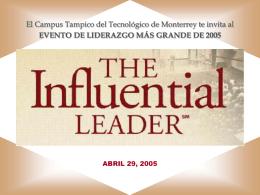 El Líder Influyente - Campus Tampico