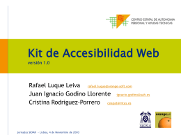 Kit de Accesibilidad Web (KAW)