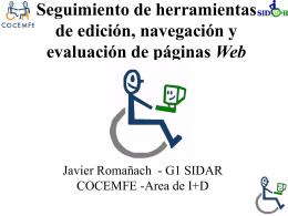 Descargar la ponencia de Javier Romañach en formato ppt