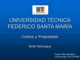 Costos Variables - Ramos UTFSM - Universidad Técnica Federico