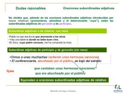 dudas razonables - Materiales de Lengua y Literatura