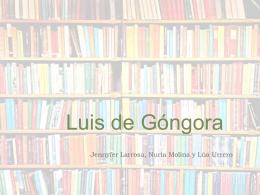 Gongora - Tirar de Lengua