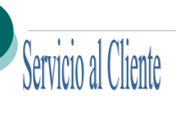 Serv al Cliente CBS