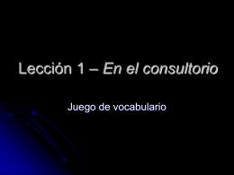 vocab.juego.leccion.1