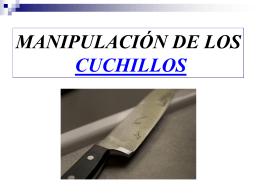 Técnicas para usar el cuchillo
