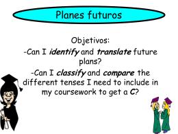 future - BSAK Spanish