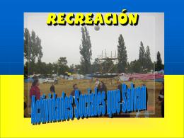 La verdadera recreación