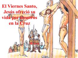 Jesús nos salva en la Cruz
