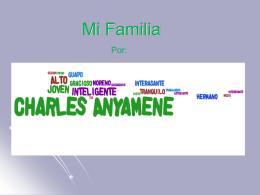 Charles Anyamene Mi Familia