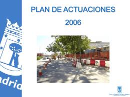 DESAYUNO OBRAS 2006 - Ayuntamiento de Madrid