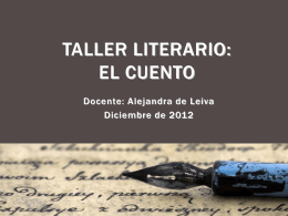 Taller literario_El cuento