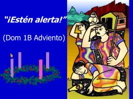 """""""¡Estén alerta para cuando llegue el Señor!"""" (Mc 13"""