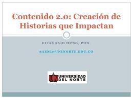 Creación de Historias que Impactan
