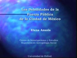 elena azaola policia mexicana