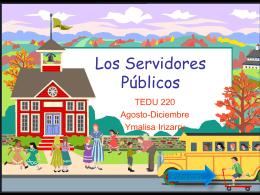Los Servidores Publicos