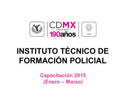 Diapositiva 1 - Secretaría de Seguridad Pública