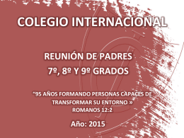 Interno - Colegio Internacional