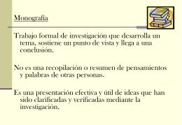 Monografía - Colegio Santa Teresa de Jesús