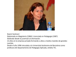 Prof. Noemí Santiveri Papiol
