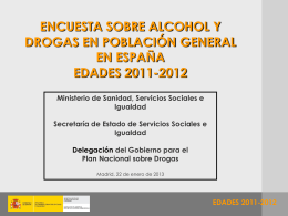 Prese220113134906000 - Ministerio de Sanidad, Servicios
