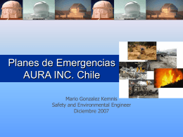 Planes Emergencias Aura Inc