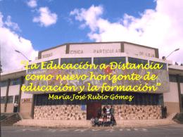 LINEAMIENTO GENERALES PARA LA EDUCACIÓN A DISTANCIA