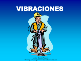 VIBRACIONES - Mantenimiento Planificado