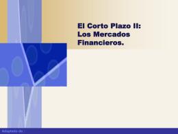 El Mercado de Activos Financieros