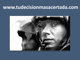 EL NUEVO MODELO DE CARRERA MILITAR