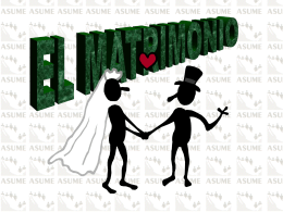 Tema 17 - Matrimonio