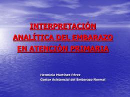 interpretación analítica del embarazo en atención primaria