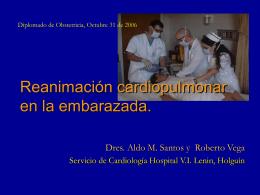 mc7Reanimación cardiopulmonar en la embarazada