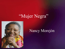 Mujer Negra PPT