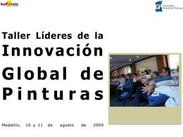 Informe Capacitación Líderes de Innovación
