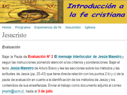 Jesús Maestro de Arturo Bravo