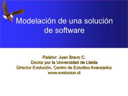 Modelación de una solución de software - Evolución