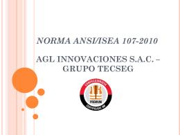 NORMA ORMA ANSI/ISEA 107