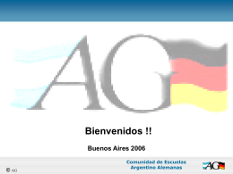 Comunidad de Escuelas Argentino Alemanas