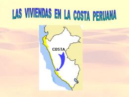 viviendas de la costa
