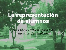 PPT Representación - Universidad de Sevilla