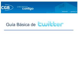 Twitter Guía básica